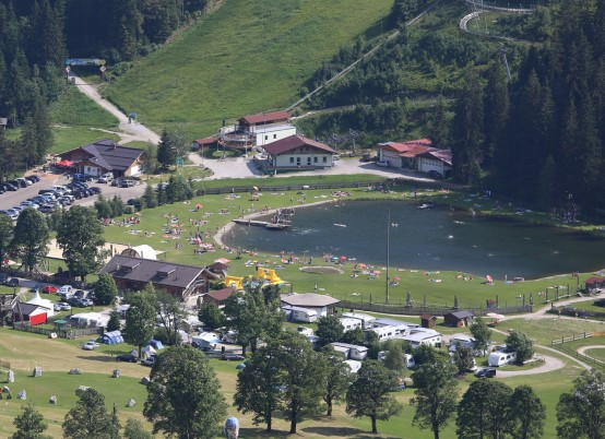 Badesee in Ramsau